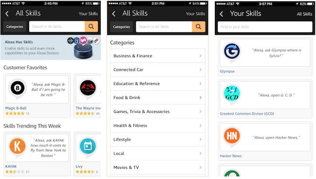 """Képtalálat a következőre: """"alexa app skills"""""""